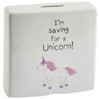 Transomnia - Unicorn Money Box